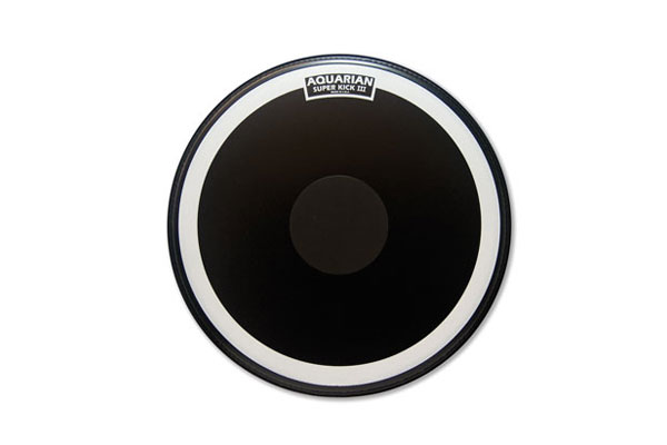 Aquarian - SKIII22BK Single Ply w/Power Dot - 22