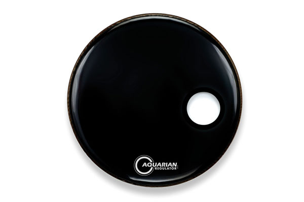 Aquarian - RSM18BK Regulator Small 4¾ Hole Black - 18