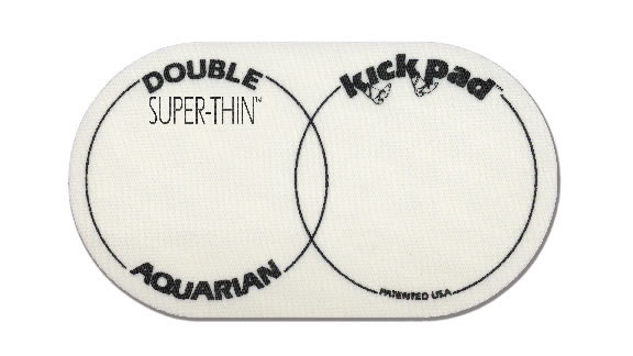 Aquarian - STKP2 Kick Pad - Double Super Thin