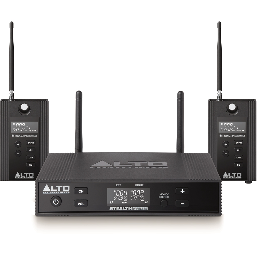 Stealth Wireless Pro: kit trasmissione/ricezione audio wireless UHF true diversity