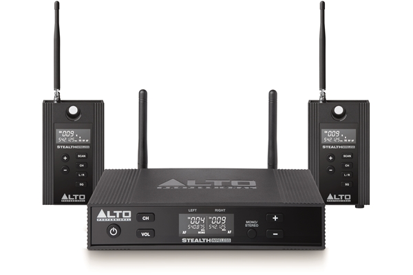 Alto Professional - Stealth Wireless Pro: kit trasmissione/ricezione audio wireless UHF true diversity