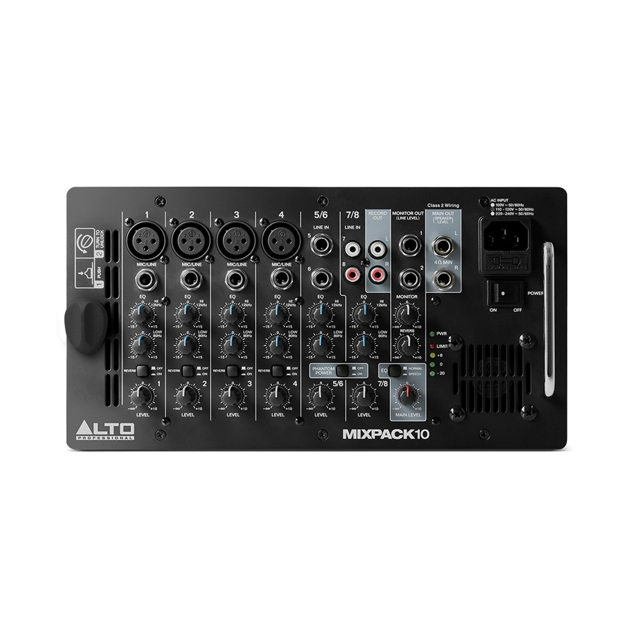 MixPack 10 sistema all-in-one mixer amplificato + due diffusori