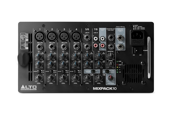 Alto Professional - MixPack 10 sistema all-in-one mixer amplificato + due diffusori
