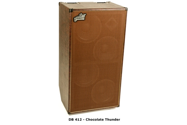Aguilar - DB 412 - 4 ohm - chocolate thunder