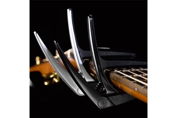 G7TH - Nashville 6 String Black Capo