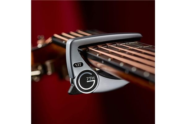 G7TH - Performance 3 ART 6 String Silver Capo