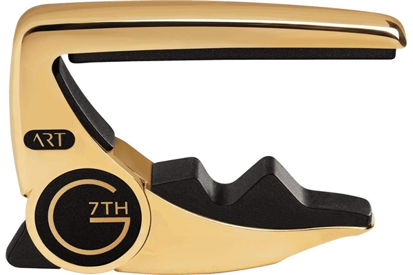 G7TH - Performance 3 ART 6 String 18kt Gold Plated Capo