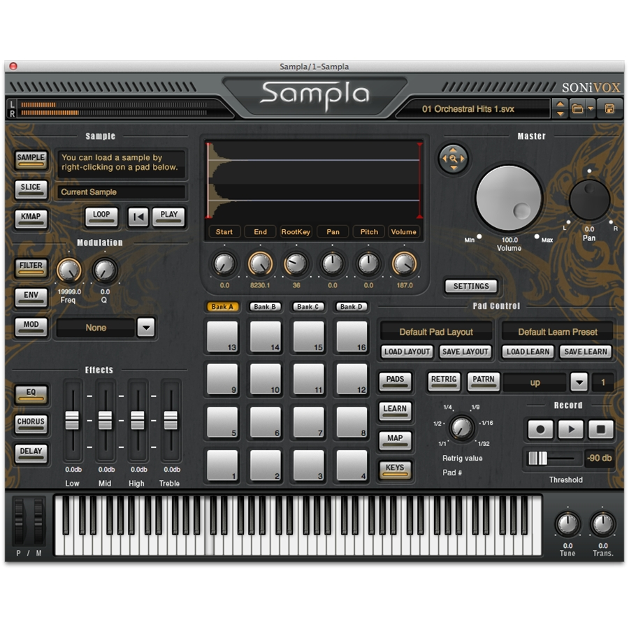 Sampla - HipHop Production Sampler