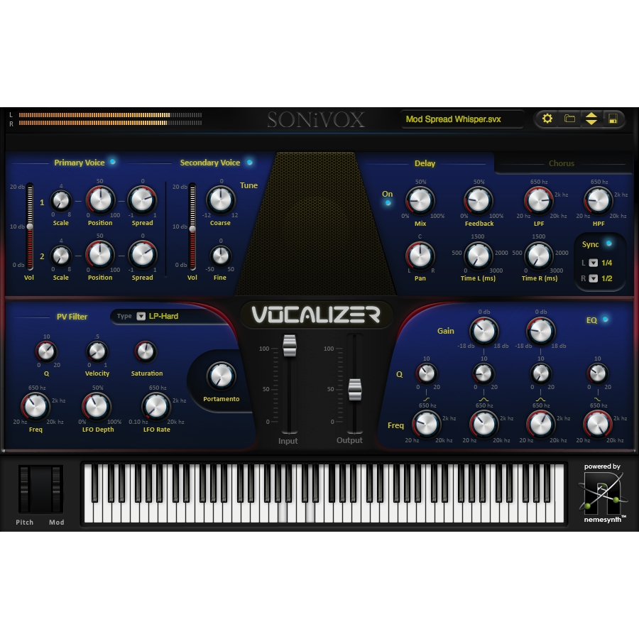 Vocalizer - Vocal Production Synth