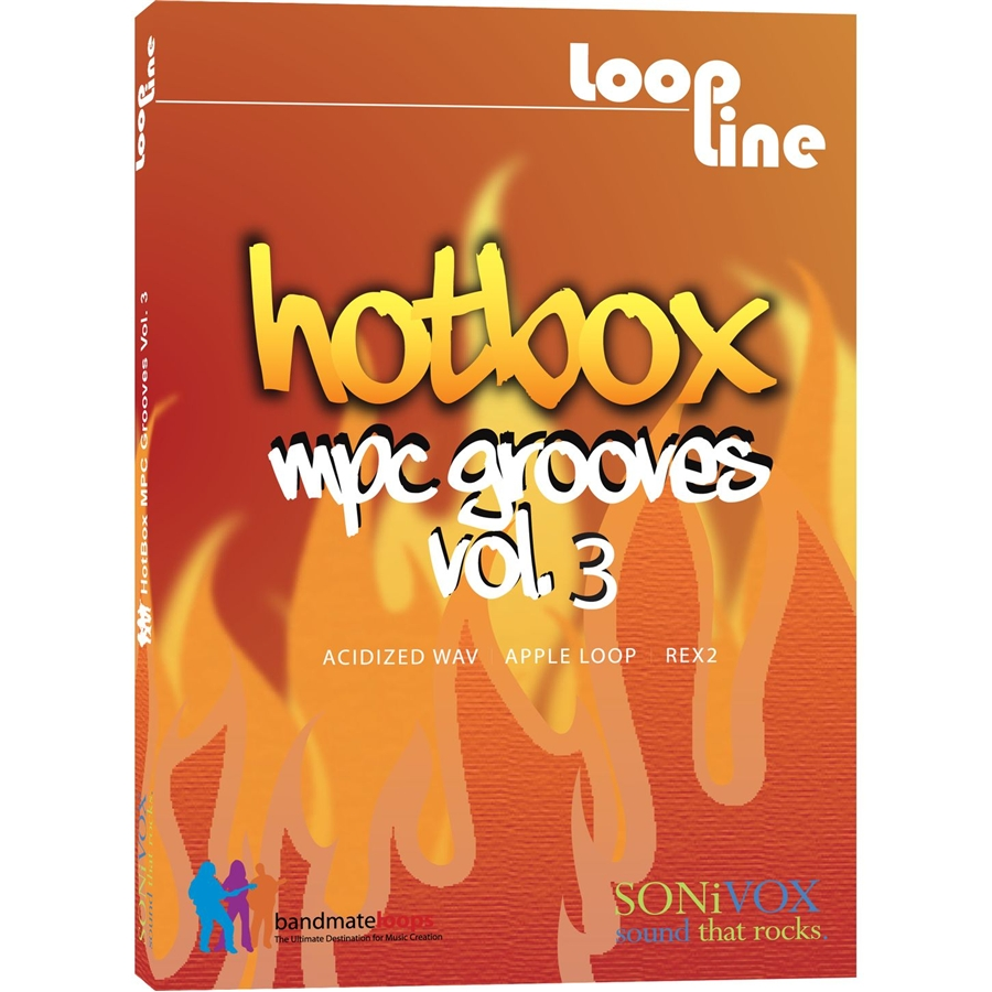 Hotbox Vol 3 MPC Grooves
