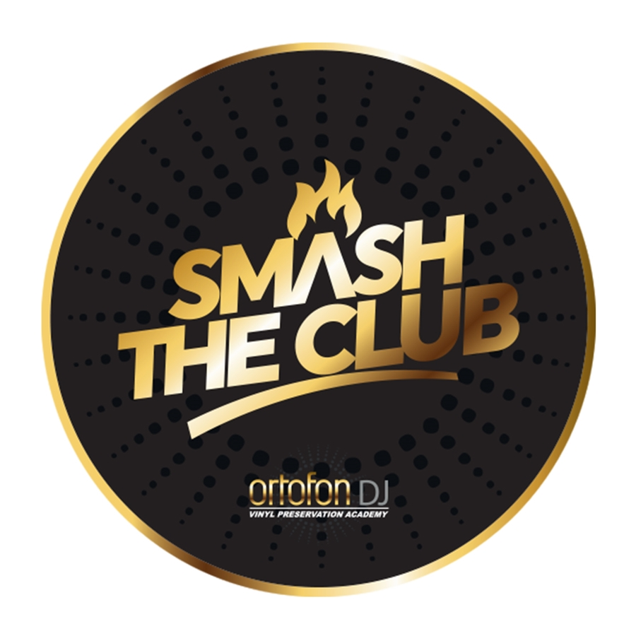 PANNETTO PER GIRADISCHI SMASH THE CLUB