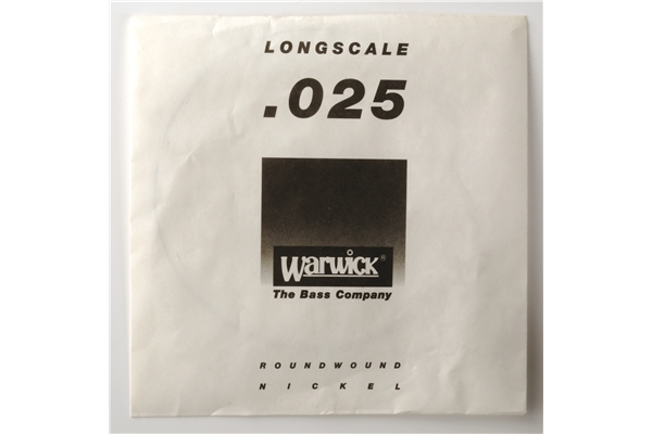 Warwick - Single String Yellow Label .025