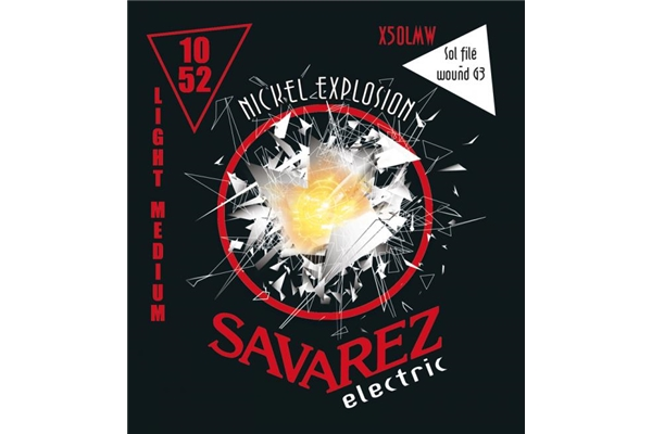 Savarez - X50LMW Light-Medium .010/.052 con Sol rivestito