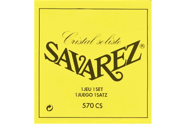Savarez - 570CS Set Tensione Forte - Bassi Soliste