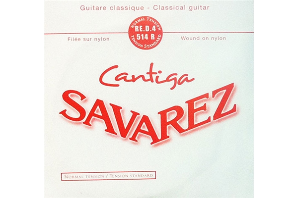 Savarez - 514R Corda singola RE-D-4