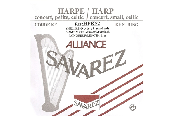 Savarez - HPK52 Ottava 1, Nota RE (0.52 mm)