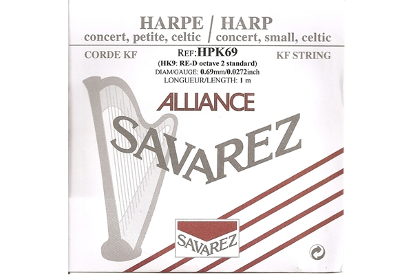 Savarez - HPK69 Ottava 2, Nota RE (0.69 mm)