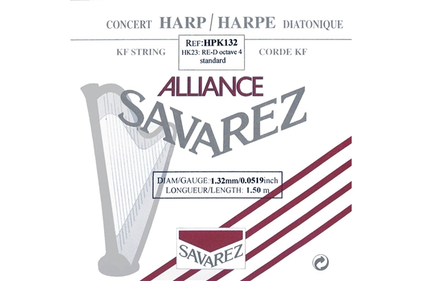 Savarez - HPK132 Ottava 4, Nota RE (1.32 mm)