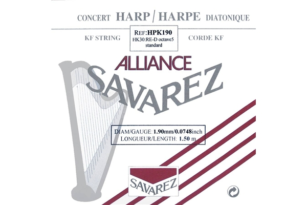 Savarez - HPK190 Ottava 5, Nota RE (1.9 mm)