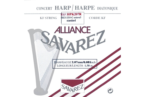 Savarez - HPK207R Ottava 5, Nota DO (2.07 mm)