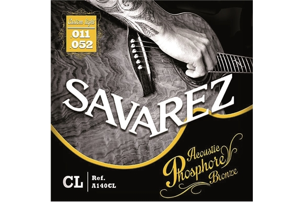 Savarez - A140CL Custom Light 11-52 Set/6