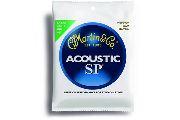 Martin & Co. - MSP3000 - Muta per chitarra acustica extra light.