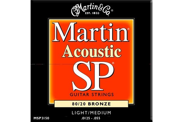 Martin & Co. - MSP3150 - Muta per chitarra acustica light/Medium.