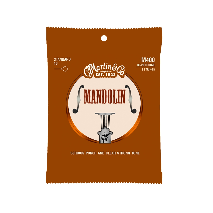 M400 Mandolin Strings Standard 80/20 Bronze