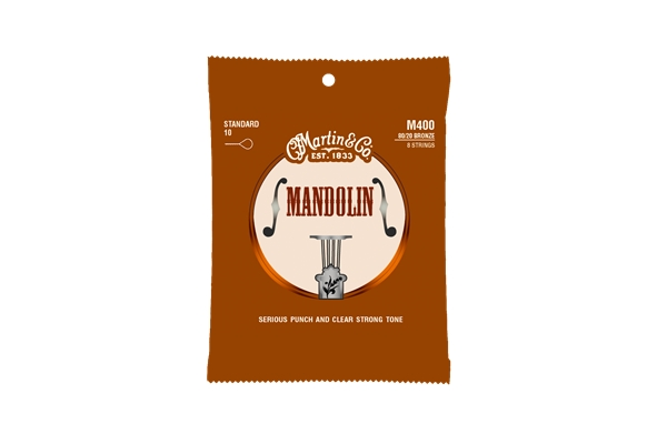 Martin & Co. - M400 Mandolin Strings Standard 80/20 Bronze