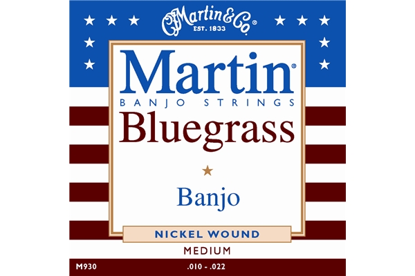 Martin & Co. - M930 - Vega Medium Bluegrass Banjo