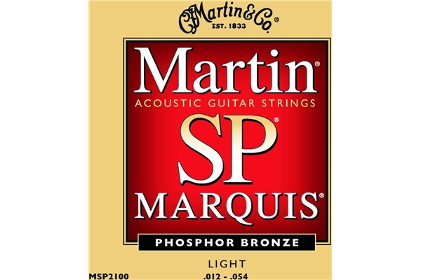 Martin & Co. - MSP2100 - Muta per chitarra acustica Light