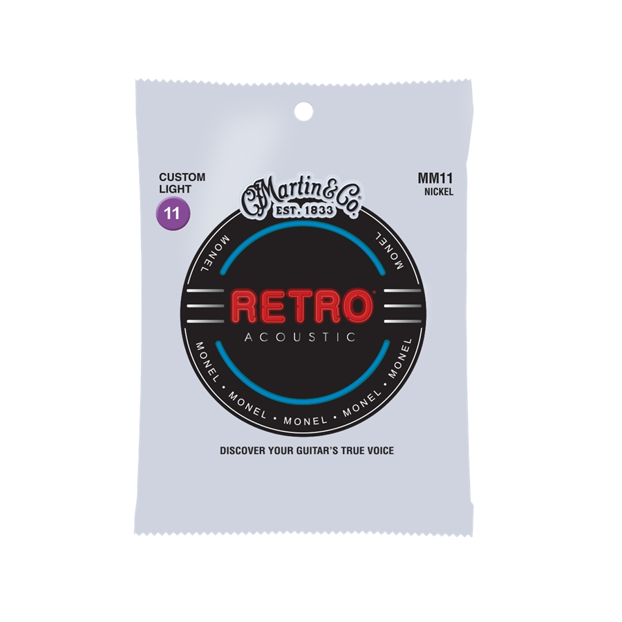 Martin MM11 Retro Acoustic 0.11 – 0.52