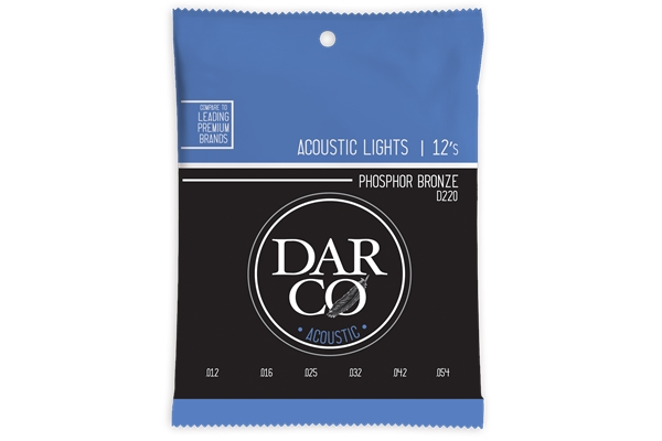 Martin & Co. - D220 Darco Acoustic Light Phosphor Bronze 12-54