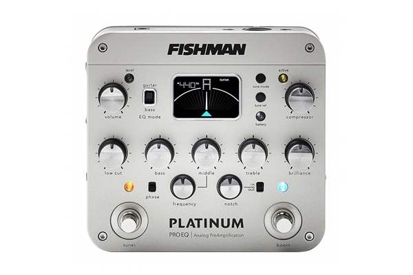 Fishman - Platinum Pro EQ/DI Analog Preamp