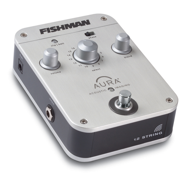 Fishman - Aura Imaging Pedal - 12 String (PRO-AIP-T01)