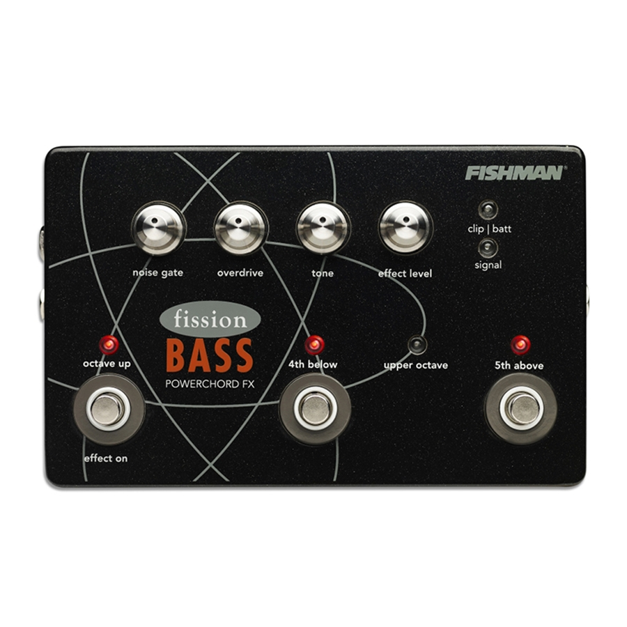 Fission Bass Powerchord FX Pedal