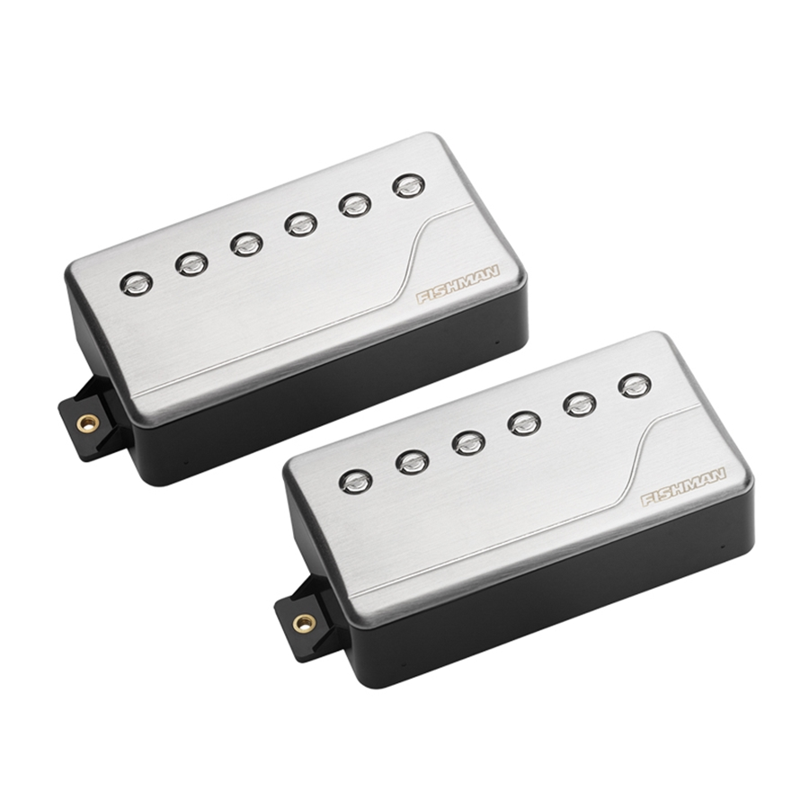 PRF-CHB-SR2 Fluence Classic Humbucker, Brushed Stainless, Set