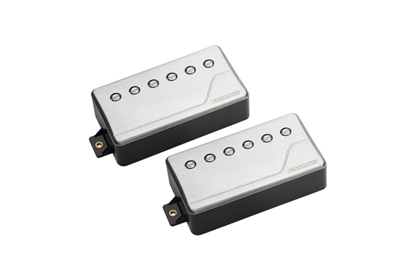 Fishman - PRF-CHB-SR2 Fluence Classic Humbucker, Brushed Stainless, Set