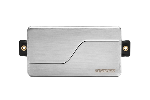 Fishman - PRF-MHB-CR1 Fluence Modern Humbucker 6 corde, Ceramic, Brushed Stainless