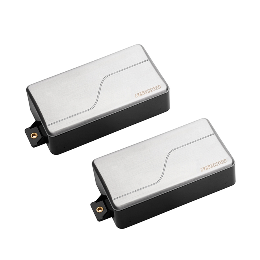 PRF-MH7-SR2 Fluence Modern Humbucker 7 corde, Brushed Stainless, Set