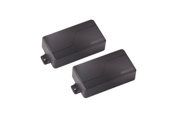 Fishman - Fluence Modern Humbucker Set/2 8 Corde Black Plastic