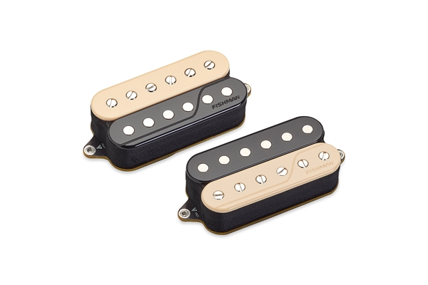 Fishman - Fluence Open Core Classic Humbucker Set/2 6 Corde Zebra