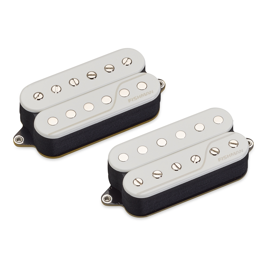 Fluence Open Core Classic Humbucker Set/2 6 Corde White