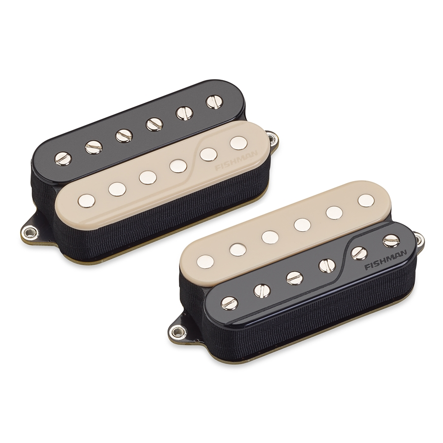 Fluence Open Core Classic Humbucker Set/2 6 Corde Reverse Zebra