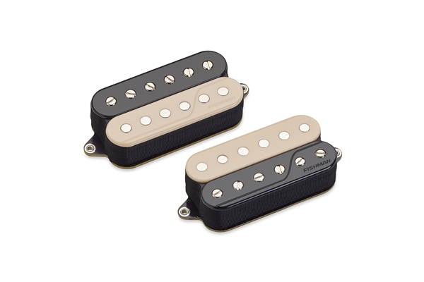 Fishman - Fluence Open Core Classic Humbucker Set/2 6 Corde Reverse Zebra