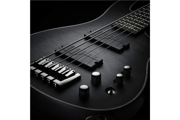 Fishman - Fluence Bass Soapbar Black Plastic set/2 5 Corde