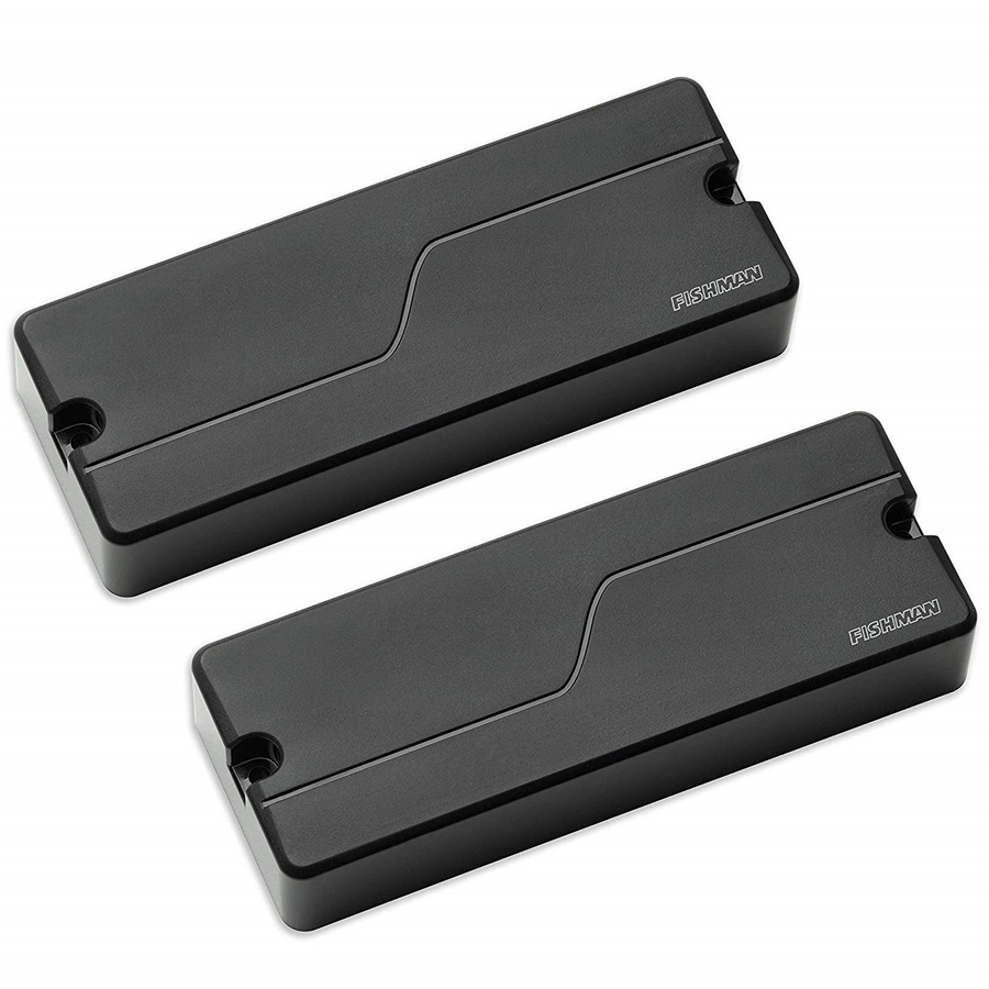 Fluence Bass Soapbar Black Plastic set/2 5 Corde