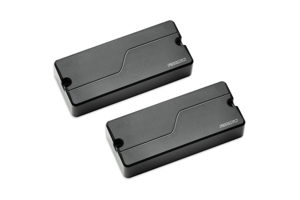 Fishman - Fluence Bass Soapbar Black Plastic set/2 4 Corde