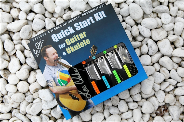 Lee Oskar - QSGU Lee Oskar Quick Start Kit per Chitarra & Ukulele
