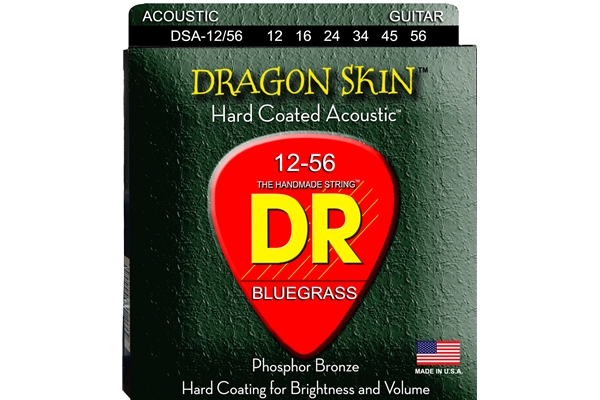 DR Strings - K3 Dragon Skin Acoustic DSA-12/56